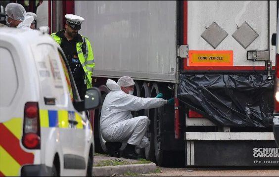 39 người đã tử vong thương tâm trong container vì giấc mộng đổi đời.