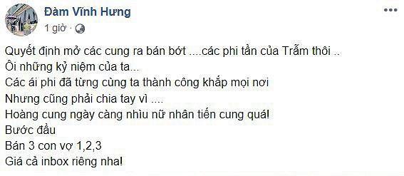 """…""""Ông hoàng nhạc Việt"""" Đàm Vĩnh Hưng"""