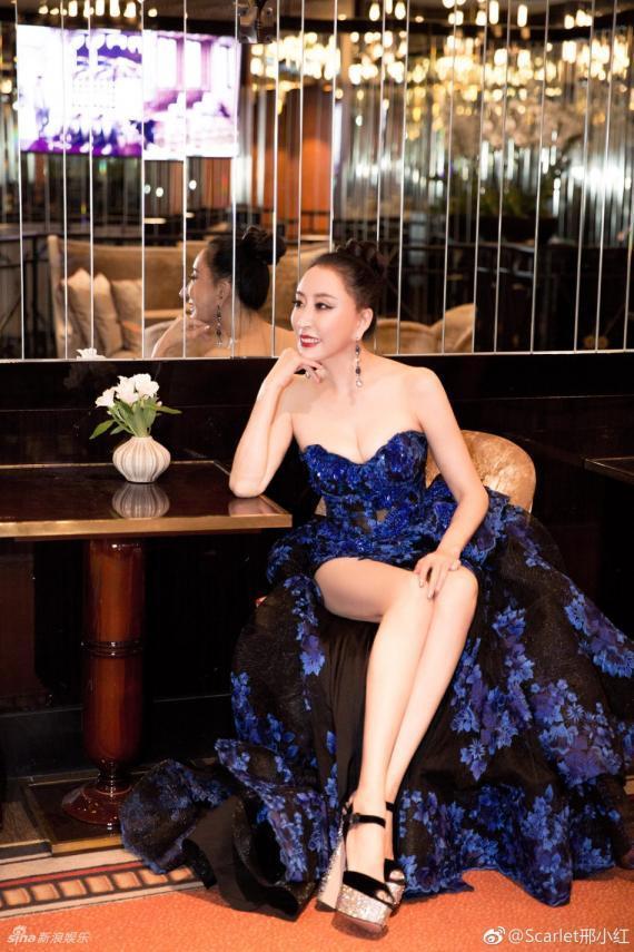 Hoa hậu Quý bà Trung Quốc đáp trả chỉ trích giả vờ té ngã để khoe ngực tại thảm đỏ Cannes 2018 ảnh 10
