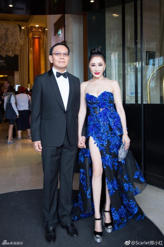 Hoa hậu Quý bà Trung Quốc đáp trả chỉ trích giả vờ té ngã để khoe ngực tại thảm đỏ Cannes 2018 ảnh 13