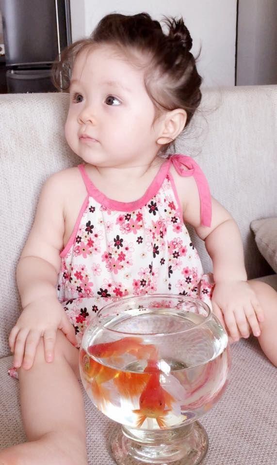 Con gái 4 tuổi của Elly Trần khiến nhiều người thích thú bởi màn bắn tiếng Anh cực lưu loát và siêu dễ thương ảnh 1