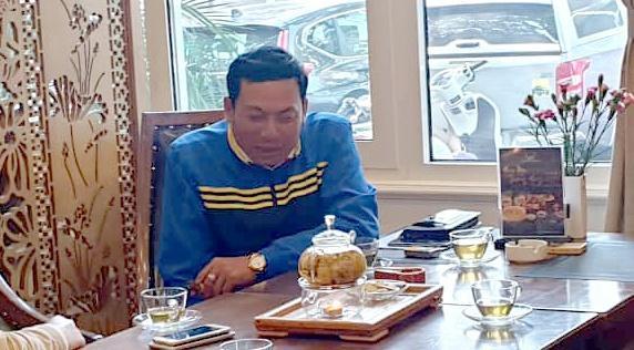 Ông Trần Đức Hà – người bị tố hành hung cháu bé (sinh năm 2007) ở Khu đô thị Ciputra.