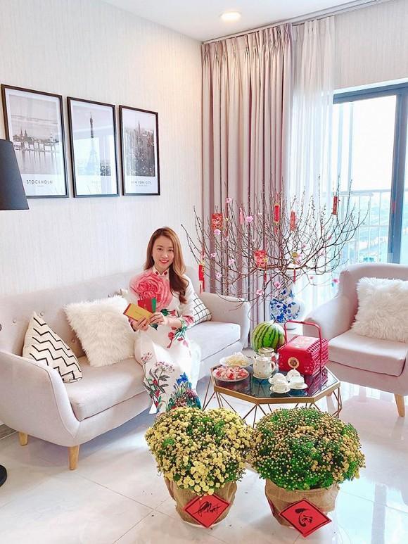 Cận cảnh căn hộ tiền tỷ của Huỳnh Hồng Loan  tình mới cầu thủ Tiến Linh ảnh 3