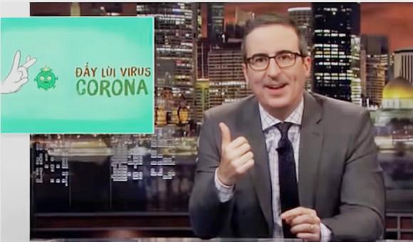"""Điệu nhảy rửa tay trên nền nhạc """"Ghen cô vy"""" xuất hiện trên sóng truyền hình Mỹ."""