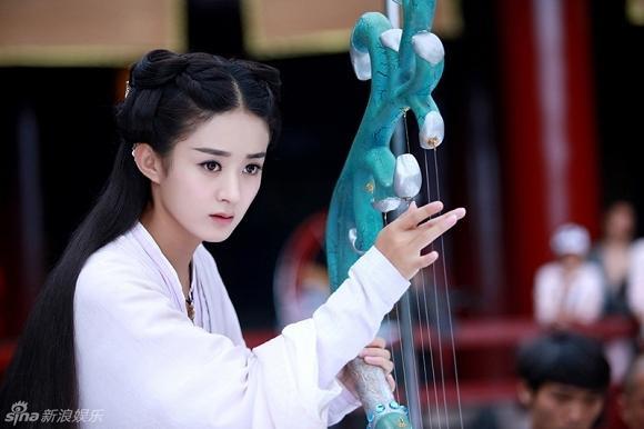 Triệu Lệ Dĩnh trở thành nữ hoàng phim truyền hình với tổng lượt xem vượt 50 tỷ và là song quán quân của IQiyi và Tencent ảnh 9