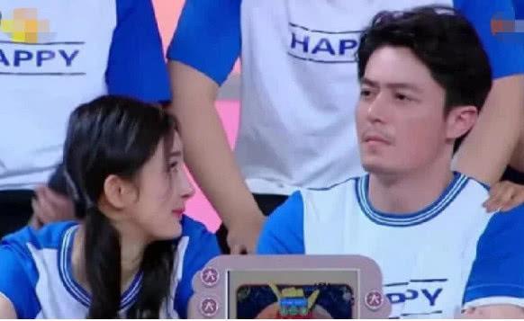 Dương Mịch và Hoắc Kiến Hoa trong show Happy Camp gần đây