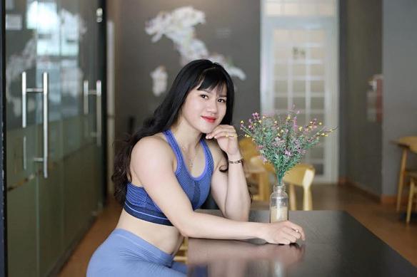 """Cận cảnh nhan sắc của """"búp bê cơ bắp"""" Trần Thị Ny."""