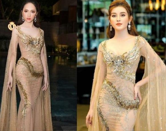 Nóng mắt với pha đụng hàng váy áo lịch sử đẹp bất phân thắng bại của dàn mỹ nhân Việt ảnh 15
