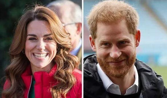 Hoàng tử Harry rất quý mến chị dâu Kate.