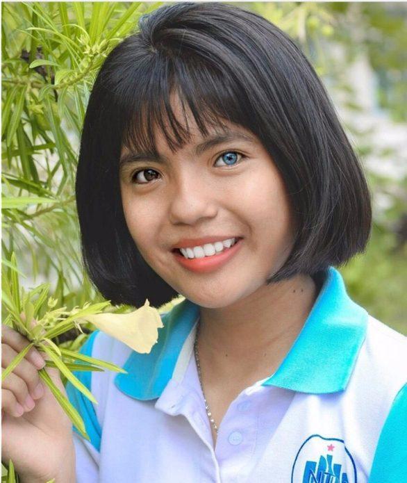 Nữ sinh Thạch Thị Sa Pa vừa trúng tuyển Đại học Nha Trang. Ảnh: báo Tuổi Trẻ Online.