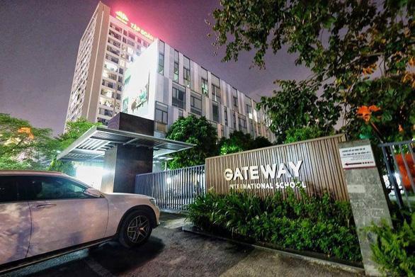 Cổng trườngPhổ thông Liên cấp Quốc tế Gateway - nơi xảy ra vụ việc.