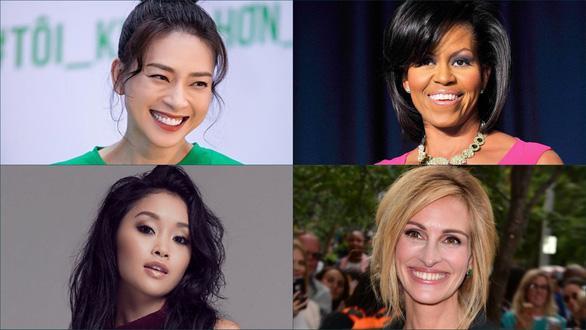 Diễn viên Ngô Thanh Vân, cựuĐệ nhất phu nhân Mỹ Michelle Obama, nữ diễn viên gốc Việt Lana Condor và diễn viênJulia Roberts tới Việt Nam trong chương trình thúc đẩy giáo dục cho các trẻ em gái.