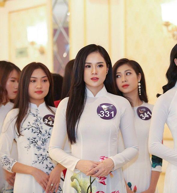 Bạn gái Trọng Đại từng trở thành đối thủ của Lương Thuỳ Linh tại cuộc thi hoa hậu thế giới Việt Nam 2019.