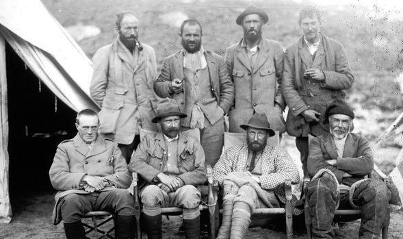 Đoàn thám hiểm người Anh năm 1924.
