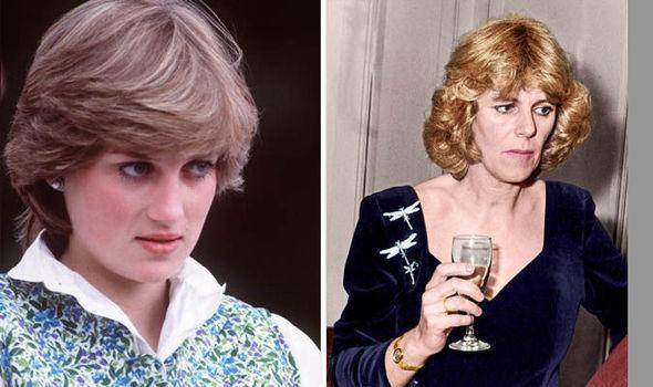 Công nương Diana và bà Camilla, người được cho là kẻ thứ 3 xen vào cuộc hôn nhân giữa Diana và Thái tử Charles. Ảnh: Getty