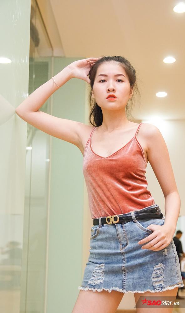 Diễm Châu được nhận định là một trong các thí sinh sở hữu gương mặt cá tính, cùng thần thái vóc dáng đậm chất high-fashion.