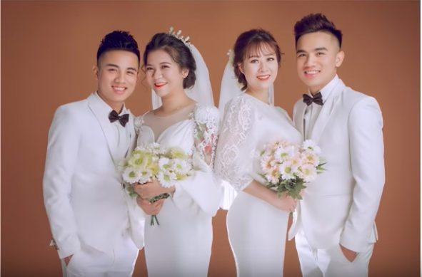 2 anh em Hoàng và Lâm rất giống nhau về ngoại hình.