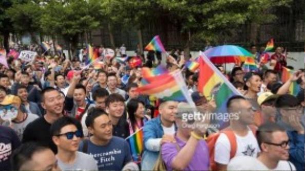 Đài Loan là một trong số ít quốc gia Châu Á cởi mở với vấn đề người đồng tính.