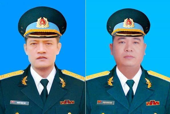 Hai phi công hy sinh trong vụ máy bay quân sự rơi ở Nghệ An.