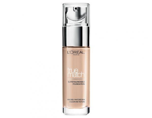 L'oréal Paris true match liquid foundation được tạo nên bởi công nghệ Micro Matching với những hạt phấn siêu mịn.