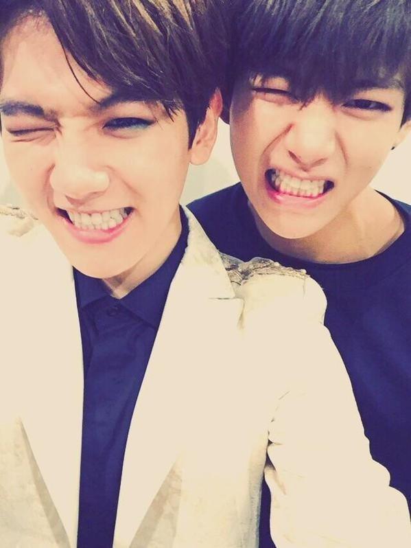 Baekhyun và V.