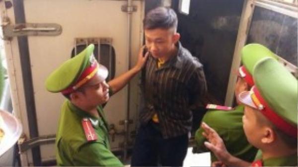Đào Quang Khánh dù không kháng cáo vẫn bị đưa tới phiên phúc thẩm. Ảnh VnExpress.net