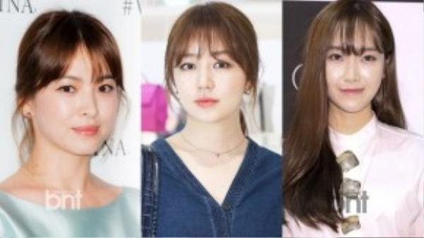 Song Hye Kyo, Yoon Eun Hye và Jessica – 3 người đẹp Hàn Quốc đang hoạt động showbiz ở Trung Quốc.