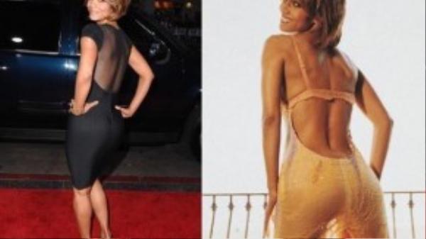 Halle Berry là một trong những nữ diễn viên có vòng ba đẹp nhất Hollywood.