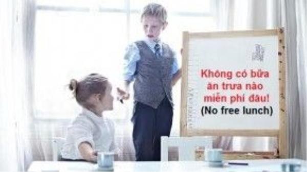 Bước 8: Nhắc khéo con bạn rằng chúng vẫn phải tự mà kiếm tiền nuôi thân, chẳng có đồng bạc nào được chia đâu.