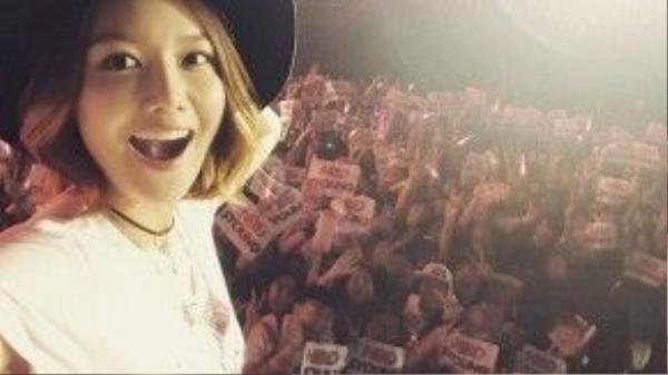 Sooyoung sẽ đón sinh nhật lần thứ 25 vào ngày 10/2 tới.