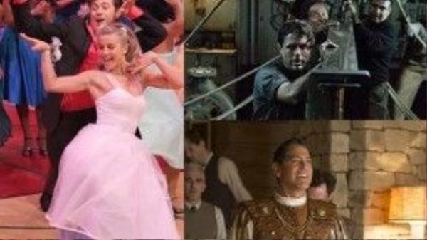 'Grease: Live', 'The Finest Hours' và 'Hail, Caesar!' tiếp tục hoàn thiện cho bức tranh toàn cảnh về thập niên 50.