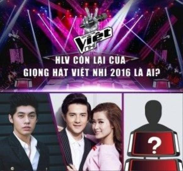 Ghế nóng còn lại của chương trình Giọng hát Việt nhí 2016 vẫn sẽ là một ca sĩ trẻ, nhưng sẽ là ai?