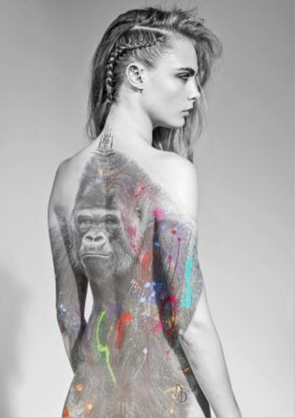 Bộ ảnh được chụp bởi nhiếp ảnh gia người Pháp Arno Elias. Vẻ đẹp cá tính, biến hóa đa dạng và bụi bặm chính là yếu tố then chốt giúp cô nàng siêu mẫu 23 tuổi này thực hiện khá thành công shoot ảnh này.