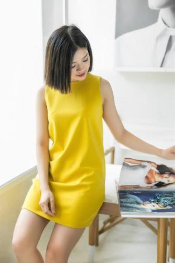 Chiếc váy đơn giản này có khả năng làm sáng bừng một ngày của bạn.