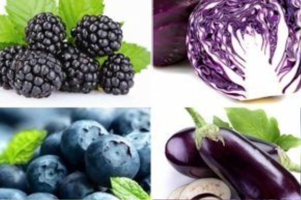 Các chất béo sẽ phải kiêng dè bắp cải tím, cà tím, nho…vì những loại thực phẩm này sẽ hạn chế sự sản xuất của chúng và giúp vòng 2 không tích tụ mỡ thừa.