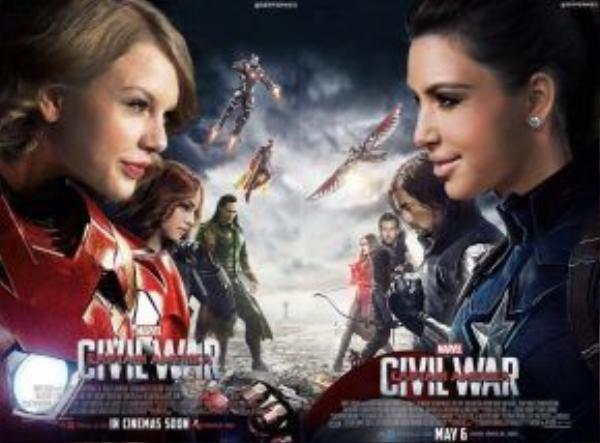"""""""Chiến tranh thế giới"""" đã nổ ra: #TeamTaylor và #TeamKim."""