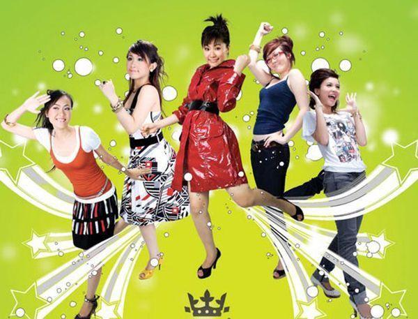 Nhóm nhạc Ngũ Long Công Chúa gồm 5 cô gái trẻ trung, đáng yêu và đam mê dòng nhạc teen.