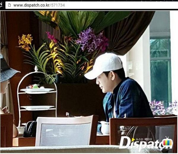 Hình ảnh hẹn hò được cho là Lee Da Hae và Se7en tại Macao.