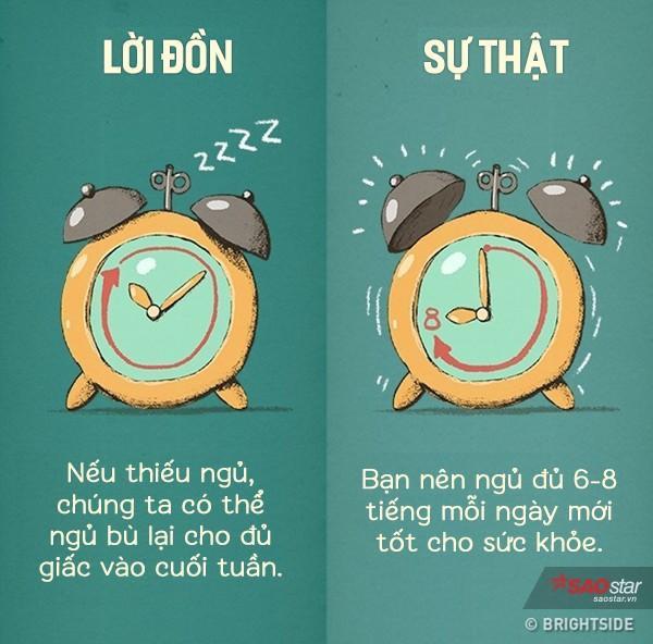 Bạn cứ nghĩ rằng thôi hôm nay thức đã ngày mai ngủ bù? Sự thật thì khi đã mất giấc ngủ của đêm hôm đó, cho dù bạn ngủ bù bằng cả ngày hôm sau đi nữa thì cơ thể vẫn cứ gọi là mệt!