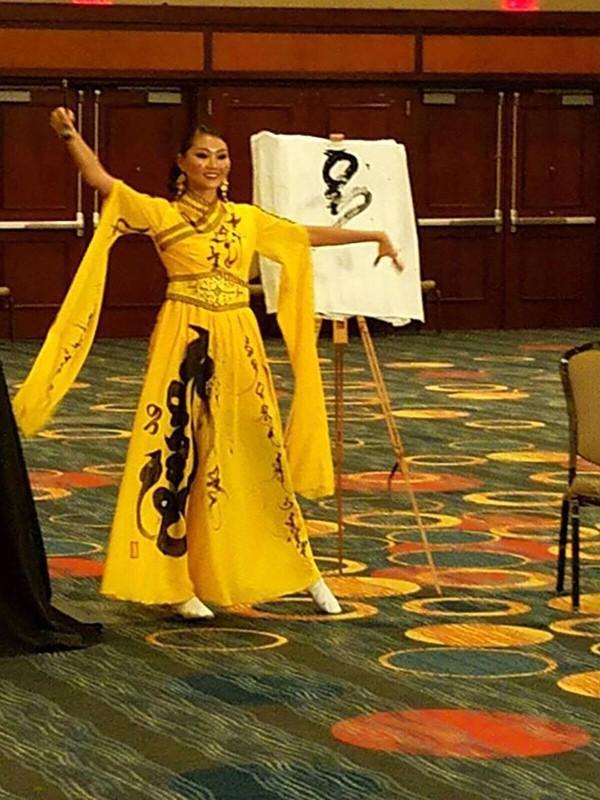 Hoa hậu Mông Cổ.