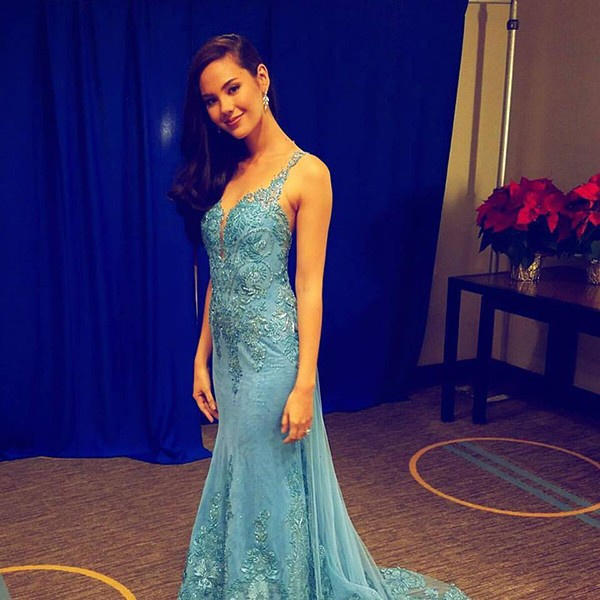 Hoa hậu Phillippines.