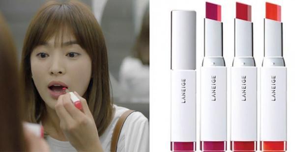 Song Hye Kyo và thỏi son gây sốt trong bộ phim Hậu duệ mặt trời.