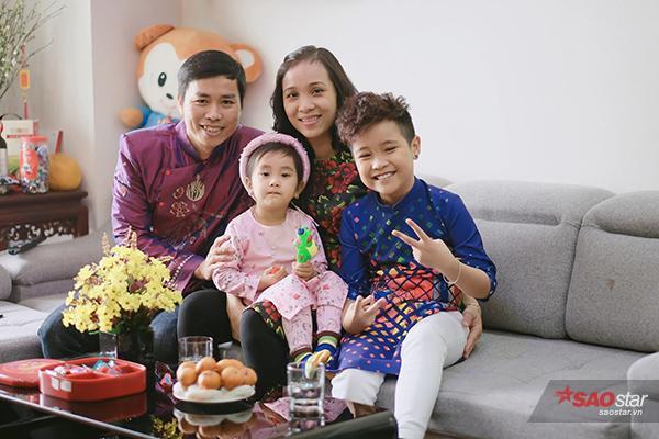 Nhật Minh đón Tết cùng gia đình