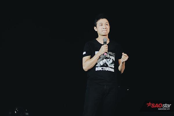 MC Anh Tuấn - người bạn, người anh em thân thiết của Trần Lập trong nhiều năm qua.