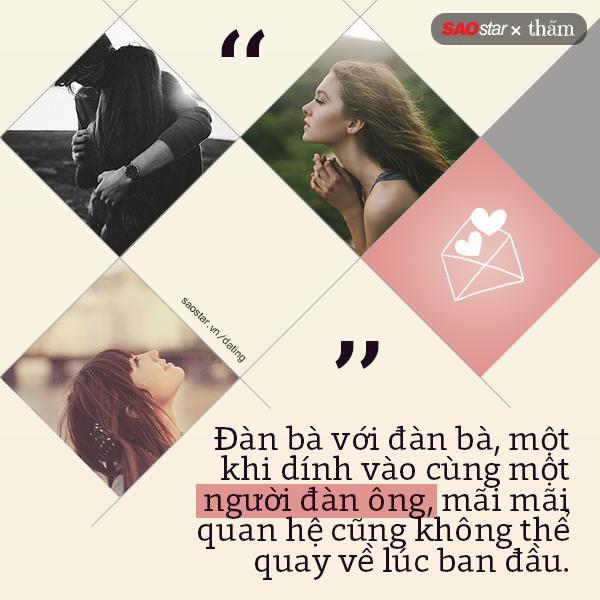 Mối quan hệ ấy, đánh mất cả tình yêu lẫn tình bạn mà cả ba đã vất vả dựng xây. Có nhiều chuyện, cố gắng đến mấy cũng không thể quay về như xưa nữa.