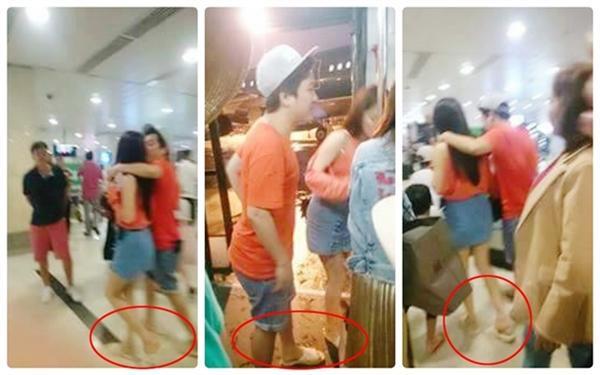 Tại Phú Quốc, cặp đôi cũng bị bắt gặp mang dép tổ ong và diện trang phục khoẻ khoắn. Trong chuyến đi này còn có sự đồng hành của gia đình Nhã Phương. Không khó để khán giả tin rằng chuyện hôn lễ của cặp đôi sẽ sớm diễn ra.