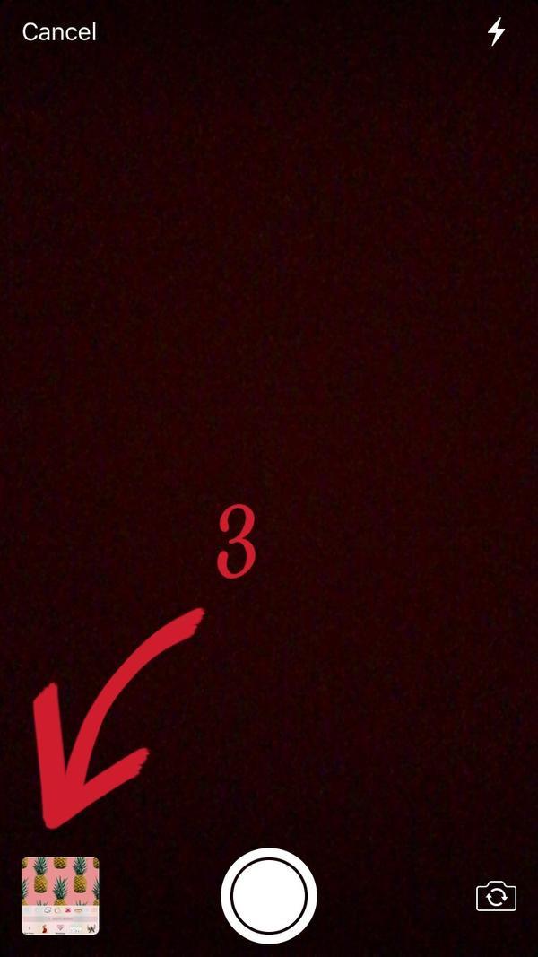 Bước 3: Bạn có thể chụp ngay một bức ảnh hoặc click vào khung bên dưới để lấy ảnh có sẵn.