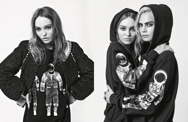 Chiến dịch mùa thu năm nay lại mang đầy hơi thở với nguồn cảm hứng tương lai, hai nàng mẫu đẹp xuất thần tái hợp cùng nhau.
