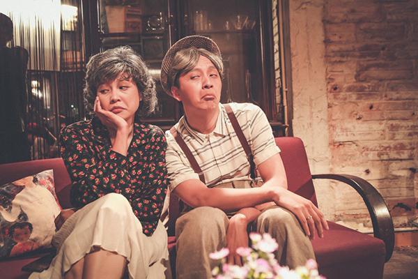 Ngô Kiến Huy tiếp tục tạo bất ngờ khi hé lộ tạo hình già trong MV.