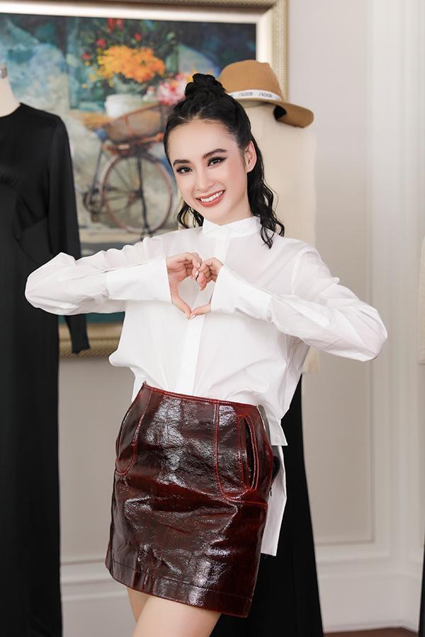 Nữ diễn viên đang hướng đến hình ảnh vóc dáng khỏe mạnh, gợi cảm của phụ nữ châu Âu nhưng vẫn giữ nét đẹp Á Đông.